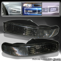 02 03 04 JEEP LIBERTY BUMPER LIGHTS SMOKE