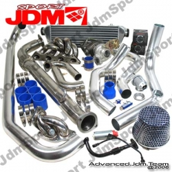 MITSUBSIHI ECLIPSE 88 89 90 91 92 93 94 COMPLETE BOLT ON TURBO KIT 1ST GEN AWD