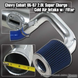 05 06 07 2.0L CHEVY COBALT POLISHED COLD AIR INTAKE