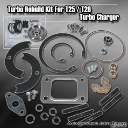 T25 / T28 HYBRID TURBOCHARGER TURBO CHARGER REBUILD / REPAIR KIT