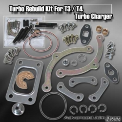 T3 / T4 / TO4E / TO4B HYBRID TURBOCHARGER TURBO CHARGER REBUILD / REPAIR KIT