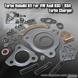 K03 / K04 / KO3 / KO4 HYBRID TURBOCHARGER TURBO CHARGER REBUILD / REPAIR KIT