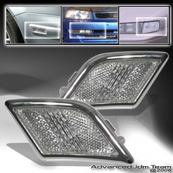 08 09 MERCEDES BENZ W204 W-204 C-CLASS C300 C63 CLEAR BUMPER LIGHTS