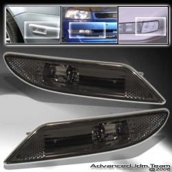 07 08 09 MERCEDES BENZ W221 W-221 S-CLASS S550 S600 SMOKED BUMPER LIGHTS