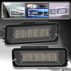 00 01 02 03 04 05 06 07 08 09 10 11 VOLKSWAGEN VW POLO REAR LICENSE PLATE LAMP / LIGHTS