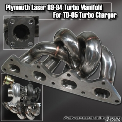 PLYMOUTH LASER 89 90 91 92 93 94  Stainless Steel Turbo Manifold TD05 / Evo 1 2 3
