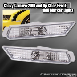 CHEVY CAMARO 2010 AND UP FRONT SIDE MARKER CLEAR