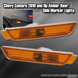 CHEVY CAMARO 2010 AND UP REAR SIDE MARKER AMBER
