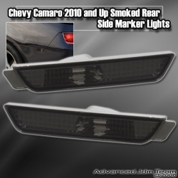 CHEVY CAMARO 2010 AND UP REAR SIDE MARKER SMOKED