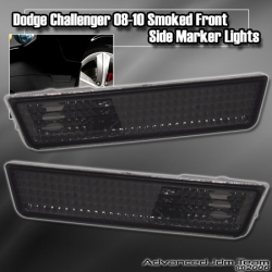 DODGE CHALLENGER 08 09 10 AND UP FRONT SIDE MARKER SMOKED