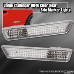 DODGE CHALLENGER 08 09 10 AND UP REAR SIDE MARKER CLEAR