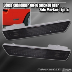 DODGE CHALLENGER 08 09 10 AND UP REAR SIDE MARKER SMOKED