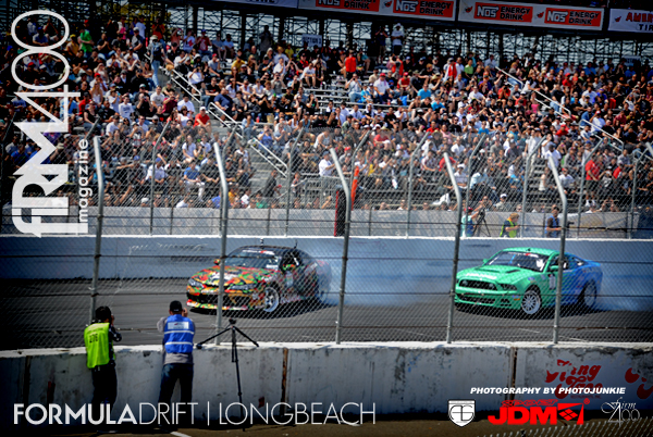 Formula Drift RETURNS to Long Beach to launch the 2012 season!