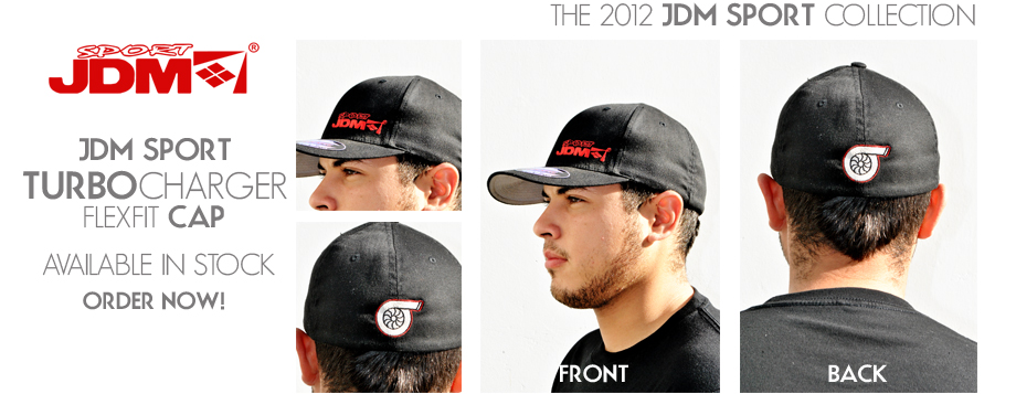 JDM SPORT APPAREL SPORT CAP / HAT - FLEXFIT ONE SIZE FITS ALL S-M / L-XL